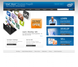 Intel Atom Developer Program